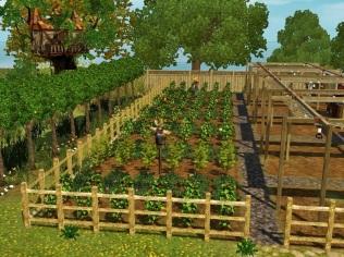 Obst- und Gemüseanbau